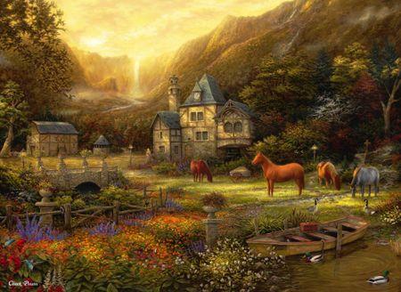 Grafika Puzzle 300 db Chuck Pinson - The Golden Valley