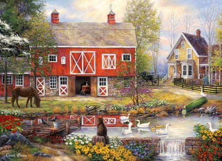 Grafika Puzzle 300 dílků Chuck Pinson - Reflections On Country Living