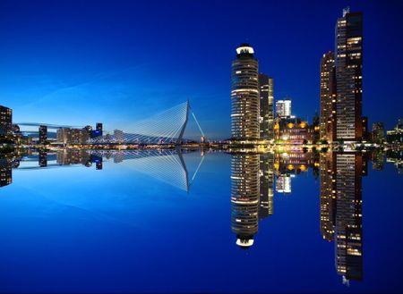 Grafika Puzzle 300 db Rotterdam