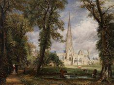 Grafika Constable: La Cathédrale de Salisbury, 1825 2000 dielikov
