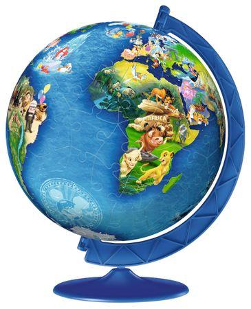 Ravensburger Puzzle 180 db 3D Puzzle - Disney Globe