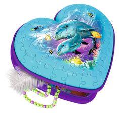 Ravensburger 3D Puzzle - Heart Box - Underwater World