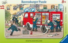 Ravensburger Frame Puzzle - Firemen