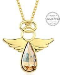 Levien Aranyozott arany csillogó nyaklánc Angel Rafael