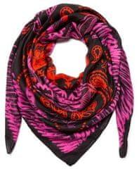 Desigual dámský růžový šátek Foul Bandana
