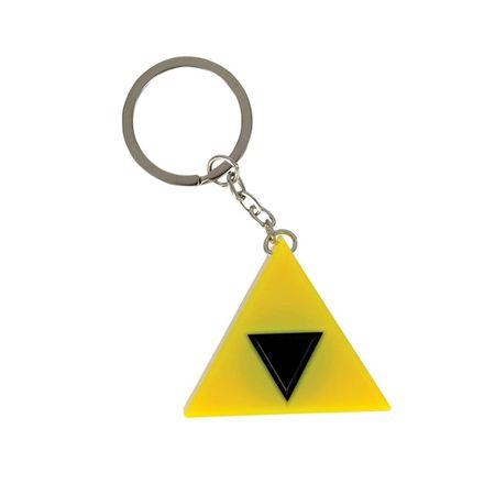 Paladone The Legend Of Zelda Tri-Force Key Light, obesek za ključe