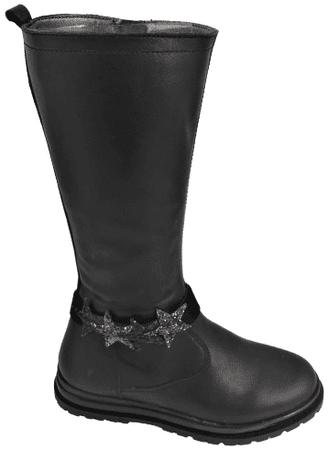 Primigi dekliški škornji, 34, črni