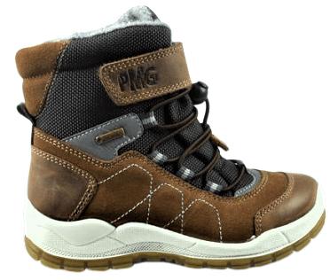 Primigi chlapecká zimní obuv 33 hnědá