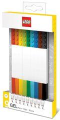 LEGO Gelová pera, mix barev - 9 ks