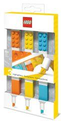 LEGO Zvýrazňovače, mix farieb - 3 ks