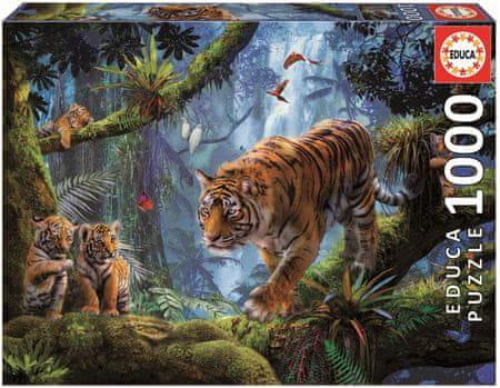 EDUCA Tigris a fán 1000 darabos
