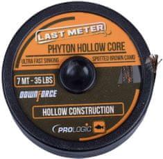 ProLogic Návazcová Šňůra Phyton Hollow Core Spotted Brown 7 m