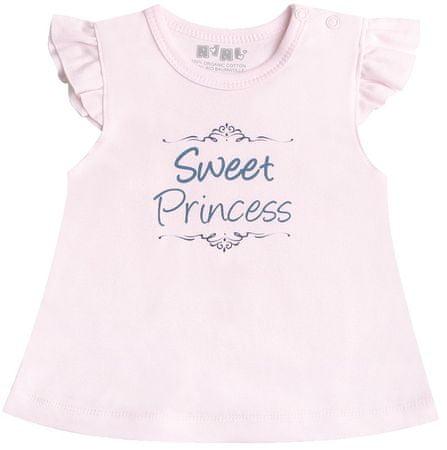 Nini dívčí tričko 56 růžová