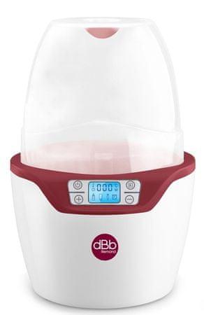 DBB Remond Sterilizátor a ohřívač Duo Steril 3v1 červená