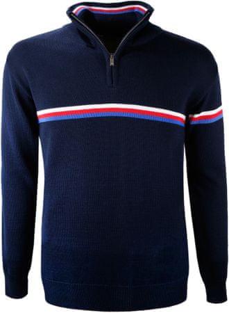 Kama merino pulover 4056, M, temno moder
