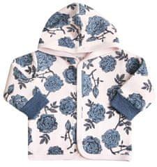 Nini dívčí vzorovaný kabátek s kapucí