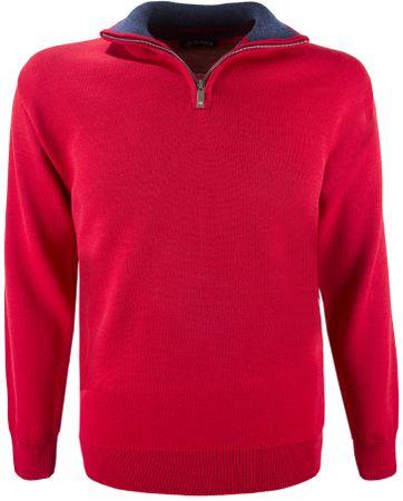 Kama merino pulover 4105, XXL, crvena