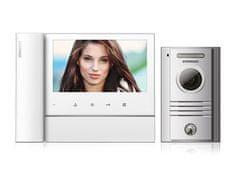 """COMMAX CDV-70N bílý/DRC-40K, ekonomická sada 7"""" sluchátkového videotelefonu a dveřní stanice,"""