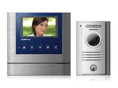 """COMMAX CDV-43M/DRC-40K, sada 4.3"""" handsfree videotelefonu a kovové dveřní stanice,"""