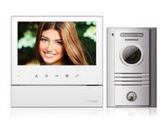 """COMMAX CDV-70H bílý/DRC-40K, ekonomická sada 7"""" handsfree videotelefonu a dveřní stanice,"""