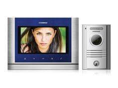 """COMMAX CDV-70M/DRC-40K, sada 7"""" handsfree videotelefonu a kovové dveřní stanice,"""