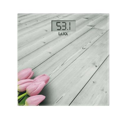 Laica elektronska vaga PS1065, bijela, roza