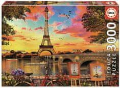 EDUCA Slagalica zalazak sunca u Parizu, 3000 komada