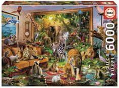 EDUCA Slagalica Divlje životinje, 6000 dijelova