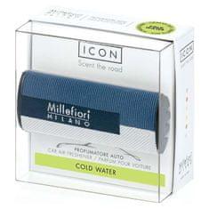 Millefiori Milano ICON vůně do auta Cold Water, textilní potah Geometric 47 g