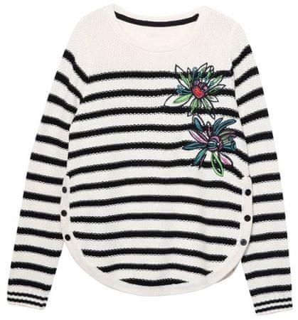 Desigual Jers Baltimore ženski pulover, XS, bež