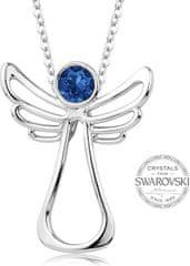 Levien Náhrdelník s tmavo modrým kryštálom Guardian Angel