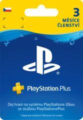 Sony PlayStation Plus 3měsíční členství (SCEE-CZ-00010000) - elektronicky