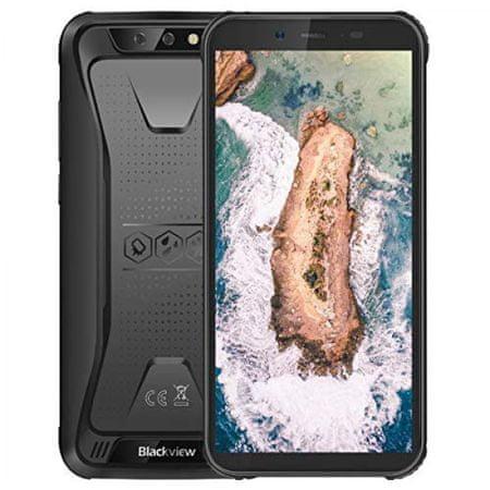 iGET Blackview mobilni telefon BV5000, črn