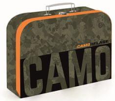 Karton P+P Kufřík lamino 34 cm Camo