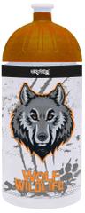 Karton P+P Fľaša na pitie 500 ml vlk