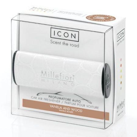 Millefiori Milano ICON vůně do auta Vanilla & Wood 47 g