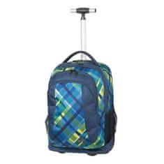 Schneiders Walker Checker Blue ruksak na kotačima