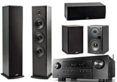 DENON AVR-S950H + Polk T15 + T30 + T50, čierne