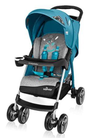 Baby Design Walker Lite športni voziček, turkizen