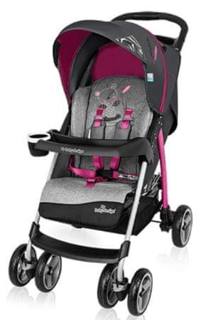 Baby Design Walker Lite sportska kolica, roza