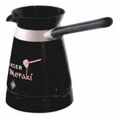 Singer Meraki električno kuhalo za kavu, crno