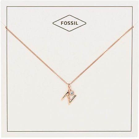 "Fossil Bronz nyaklánc ""N"" JF03043791"