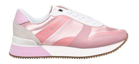 Tommy Hilfiger Damskie trampki Pop Color Satin City Sneaker FW0FW04099 -518 (rozmiar 40)