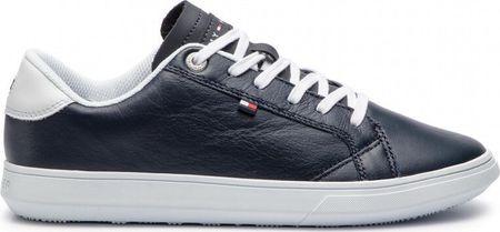 Tommy Hilfiger Férfi tornacipőEssential Leather Icon Logo Sneaker FM0FM01987-403 (méret 41)