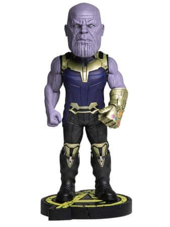 NECA avengers:infinity war-head knocker-thanos, figura