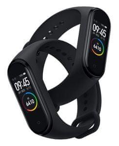 Fitness náramek Xiaomi Mi Band 4, najdi telefon, odemykání telefonu, přehrávání hudby, multisport