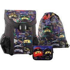 LEGO set 3v1 šolska torba Ninjago urban