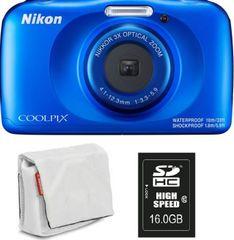 Nikon Coolpix W150, digitalni fotoaparat + SD16GB + torbica