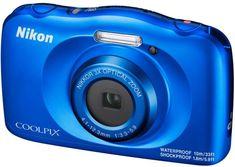 Nikon Coolpix W150, digitalni fotoaparat modra - Odprta embalaža