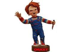 NECA chucky-head knocker-chucky with knife, figura